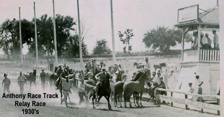 1930's Anthony Race Track Relay Race