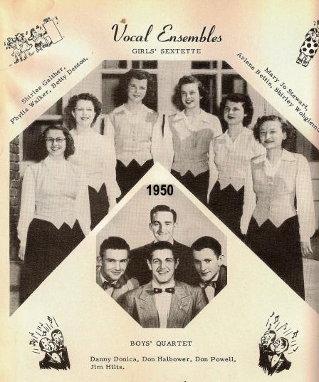 1950 AHS Vocal Groups 2